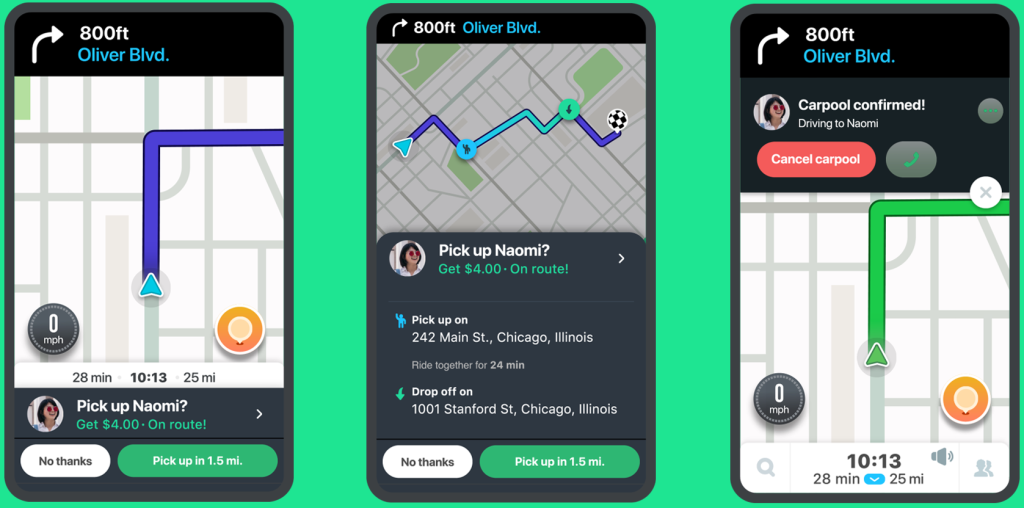Waze Launches Lane Guidance Trip Suggestions Traffic Alerts And More Venturebeat