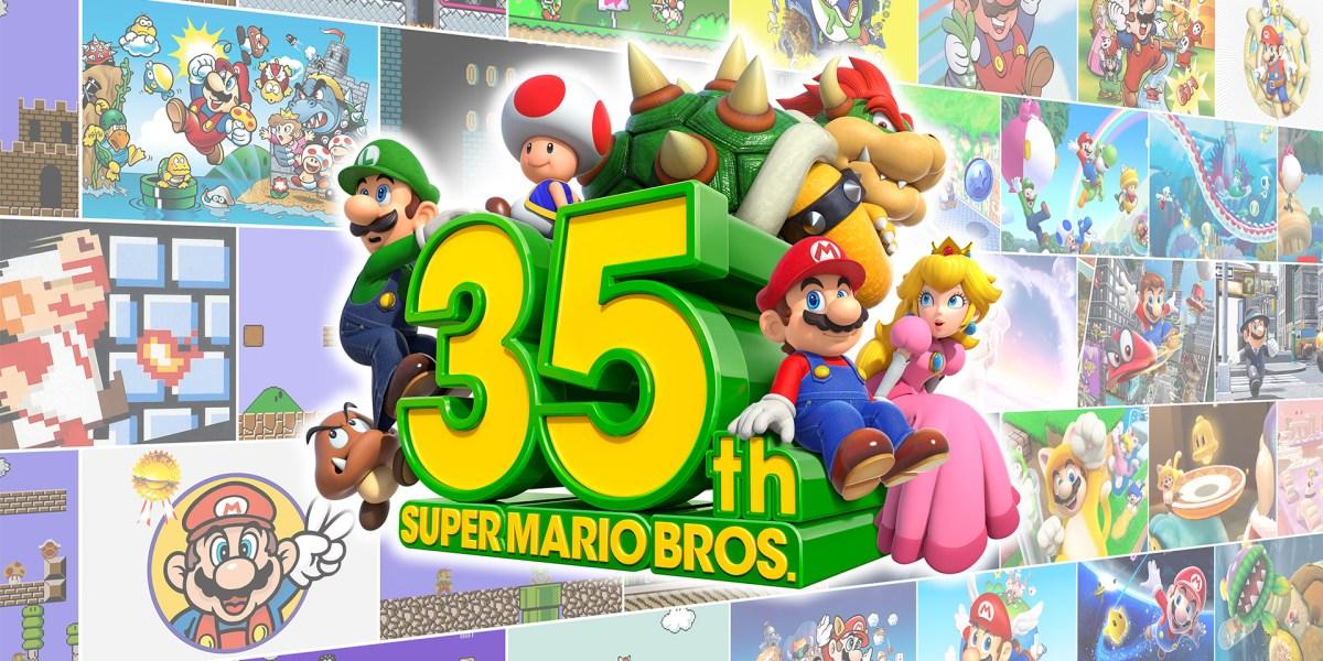 Super Mario 35th Anniversary.