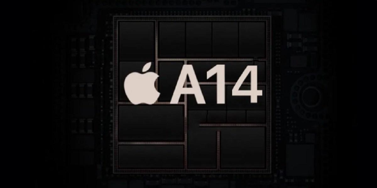 Apple's A14 Bionic processor.