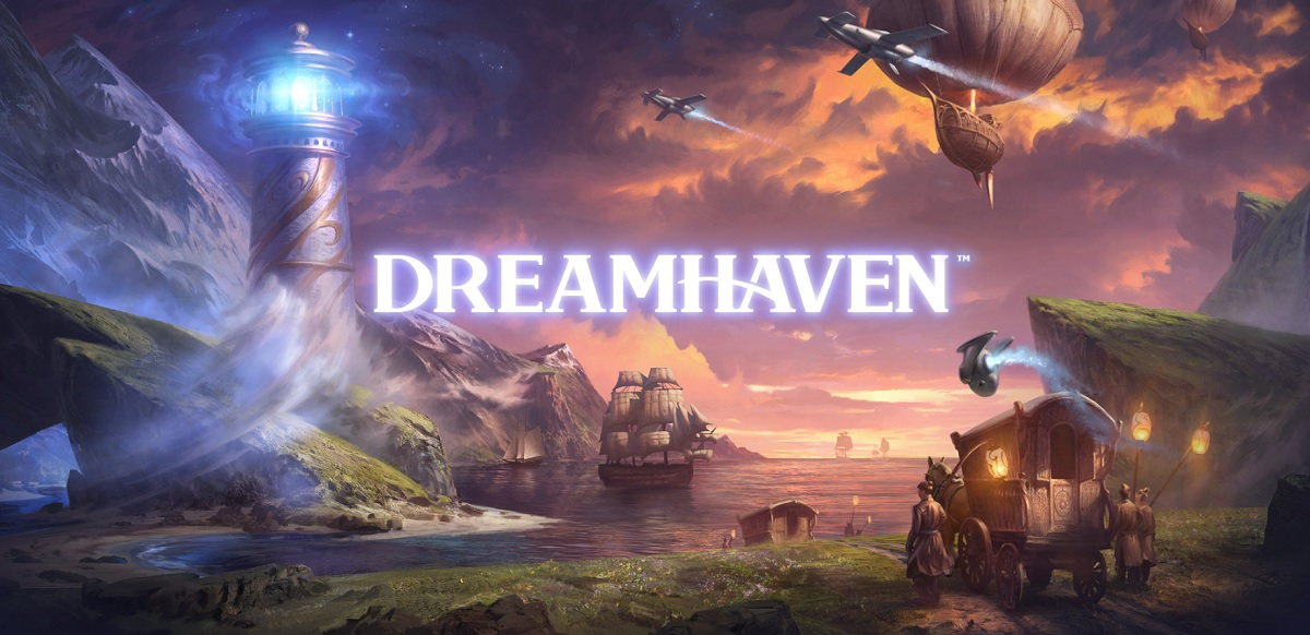 DreamHaven is the new game company started by Mike and Amy Morhaime.