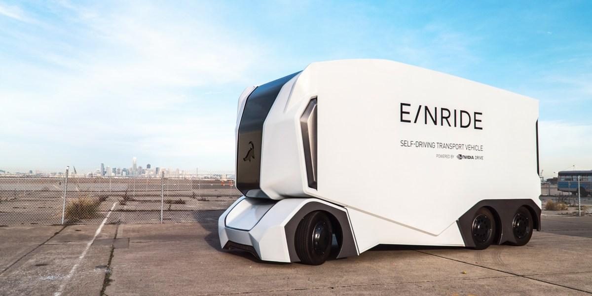 Einride's T-Pod autonomous truck