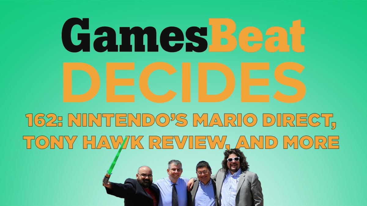 GamesBeat Decides 162: Was the Mario Direct a disappointment? thumbnail