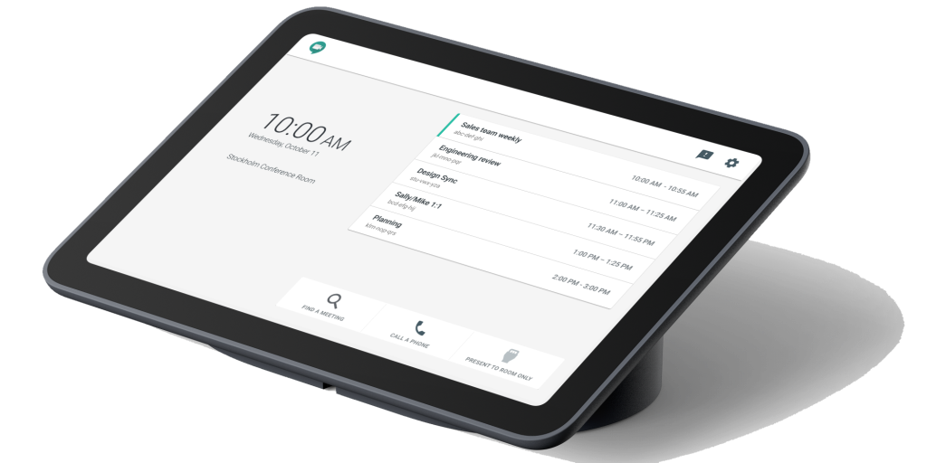 Google Series One touch widget