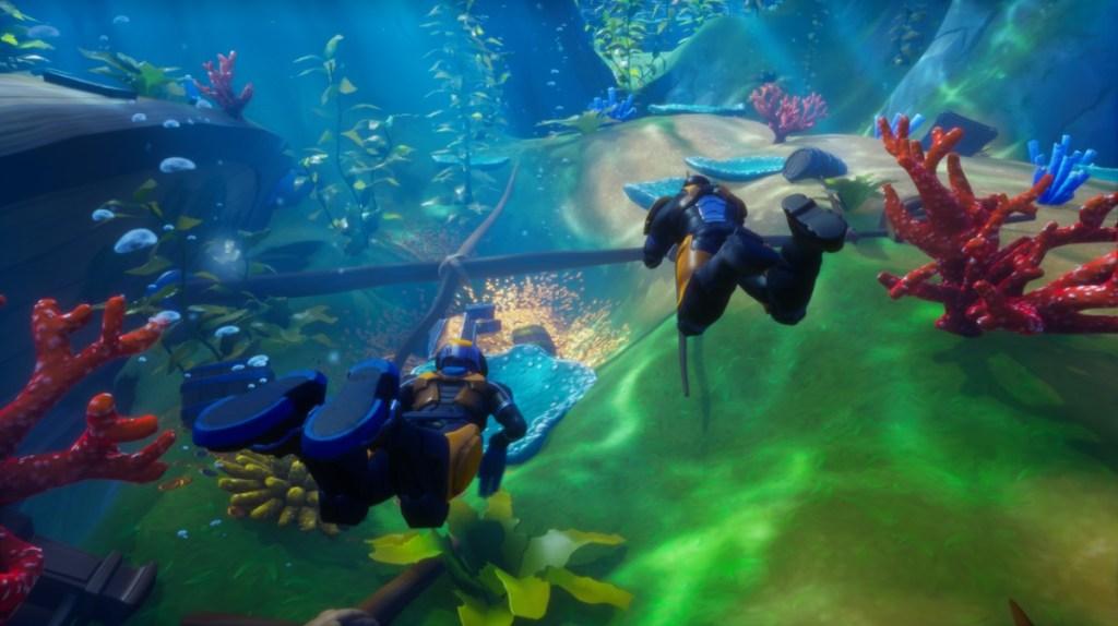 Underwater Explorers in Core.