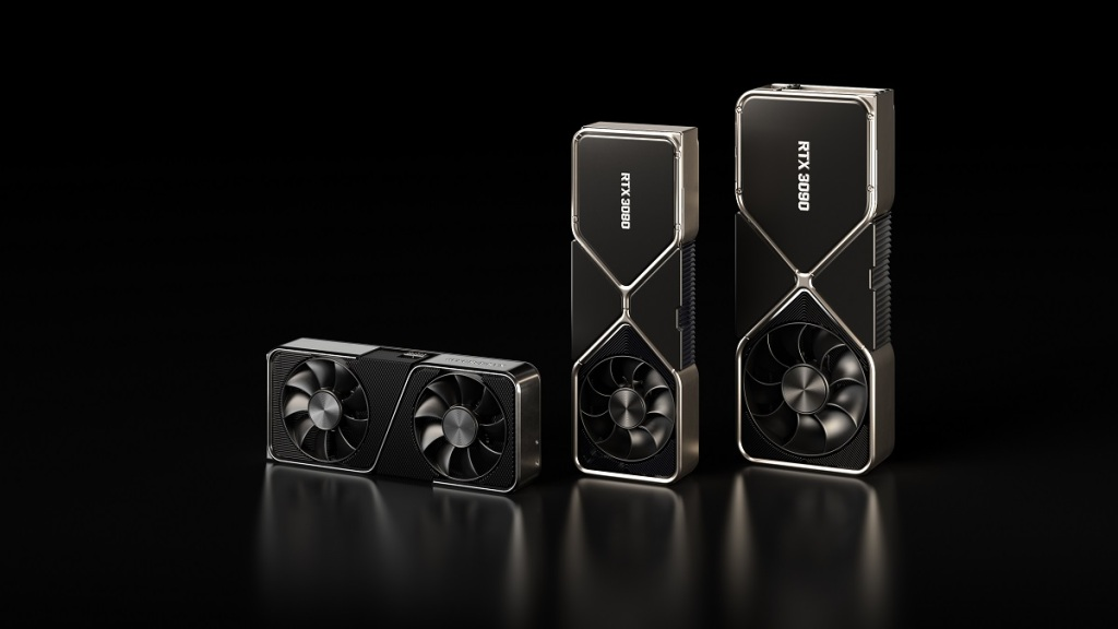 Nvidia GeForce RTX 3000 series graphics chips.