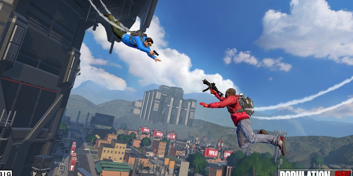 Population: One is a vertical battle royale in VR.