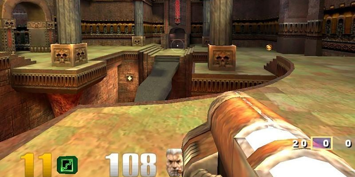 Quake III: Arena.