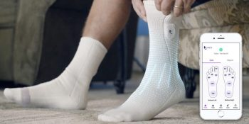 Siren's smart socks remotely monitor foot health for diabetics