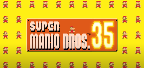 Super Mario 35 is a battle royale game because of course it is.