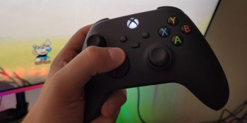 The Xbox Series X controller is great so far (especially the D-pad)