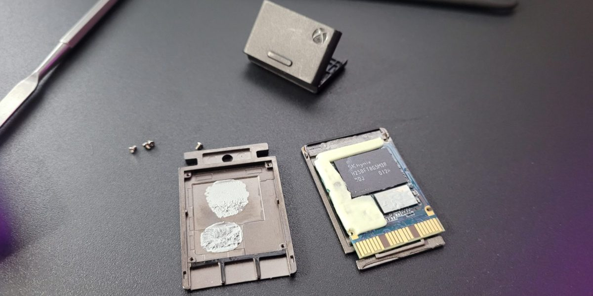 The Seagate Expansion Card teardown.