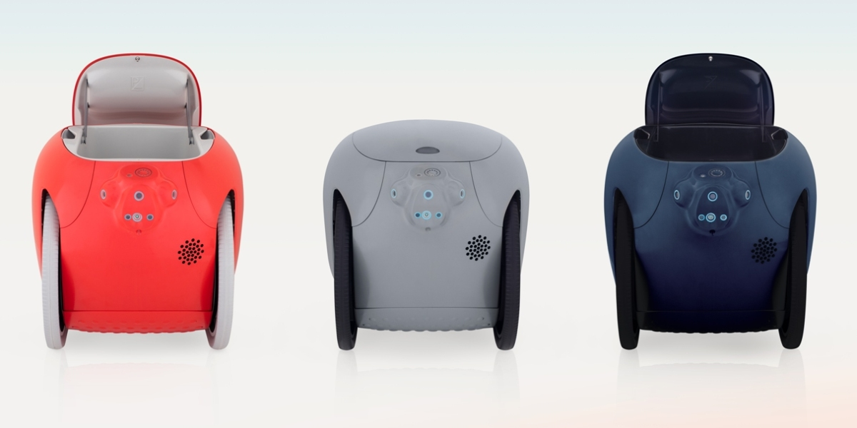 Gita robots in different colors