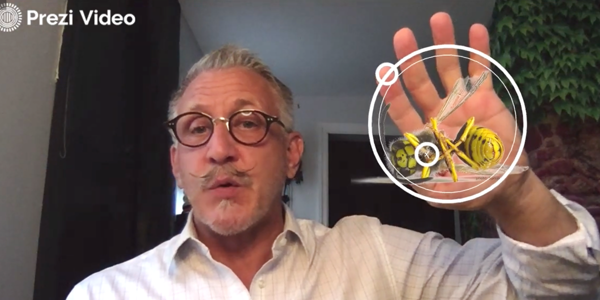 Prezi Video is working on hand-gesture control for digital content