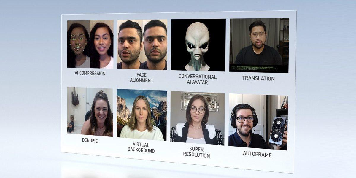 NVidia Maxine: AI 기반 화상 통신 플랫폼
