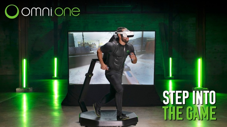 Omni One treadmill for the home.