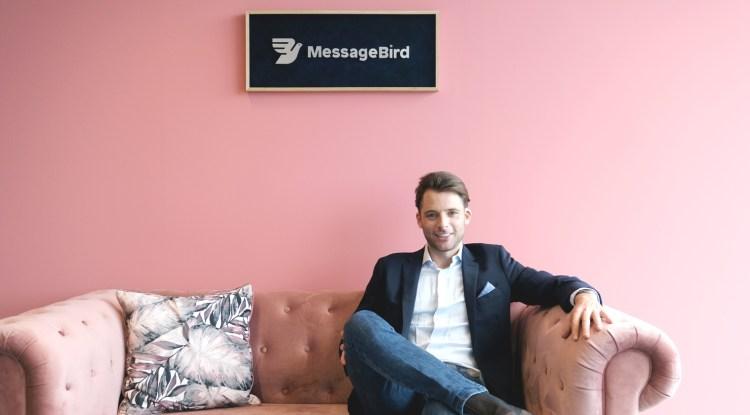 Messagebird founder and CEO Robert Vis