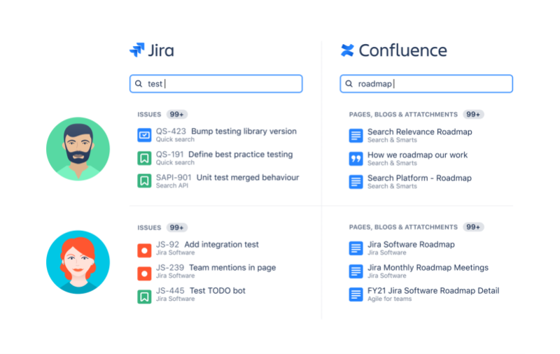 Atlassian Smart Search