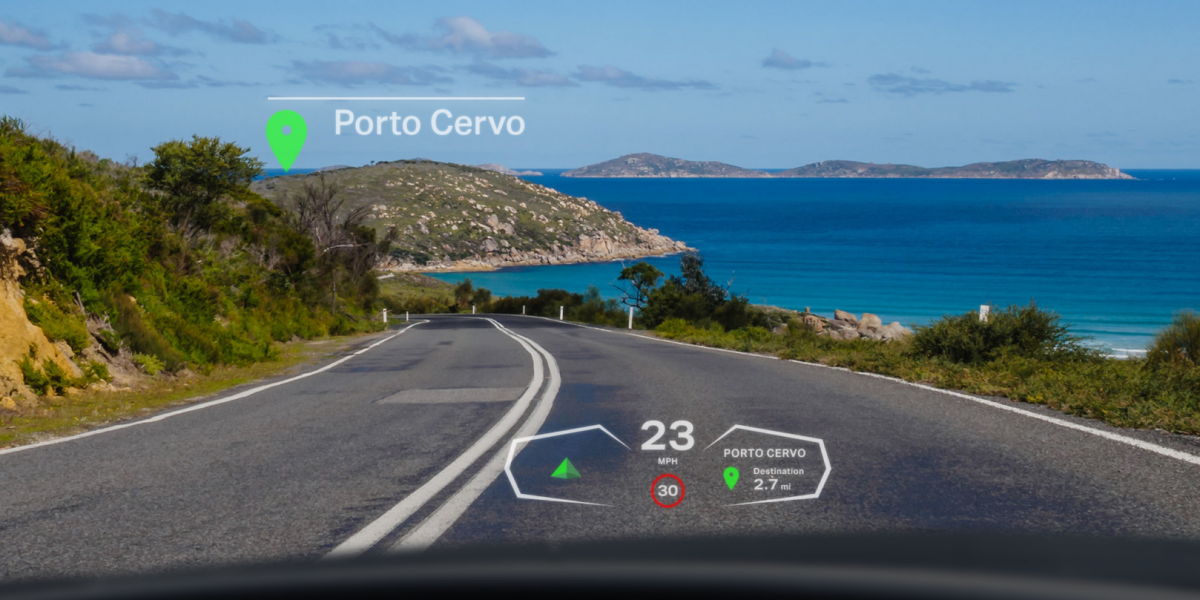 Envisics' holographic head-up display