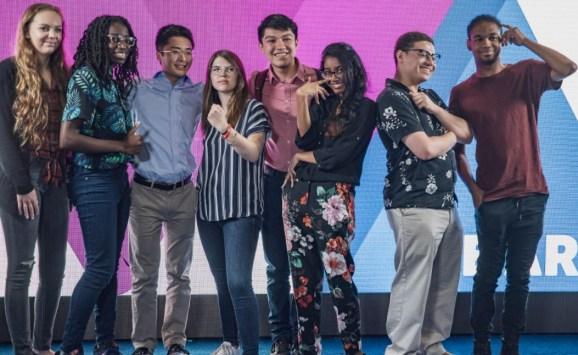 ESA Foundation scholars at E3 2019.