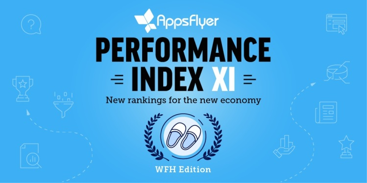 AppsFlyer's Performance Index shows Facebook is in the lead in mobile ads.