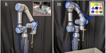 Google's Transporter Network uses minimal data to teach robots to stack blocks