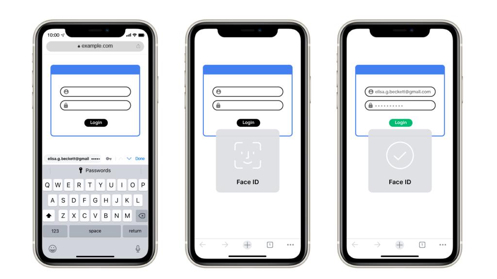 Chrome for iOS autofill