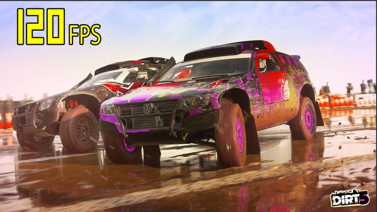 Dirt 5 from Codemasters