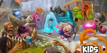 Donut Lab raises $1.6 million for Kids vs Zombies mobile game