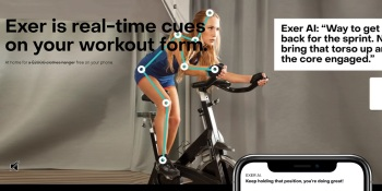 Exer Labs raises $2 million and launches computer vision app for Peloton-style coached workouts