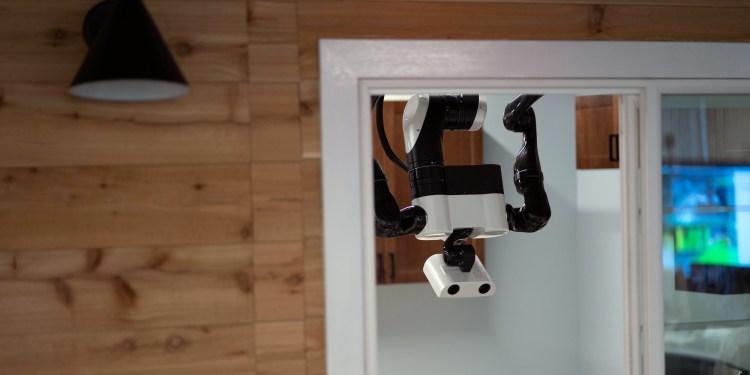 Toyota Research Institute gantry robot doorway