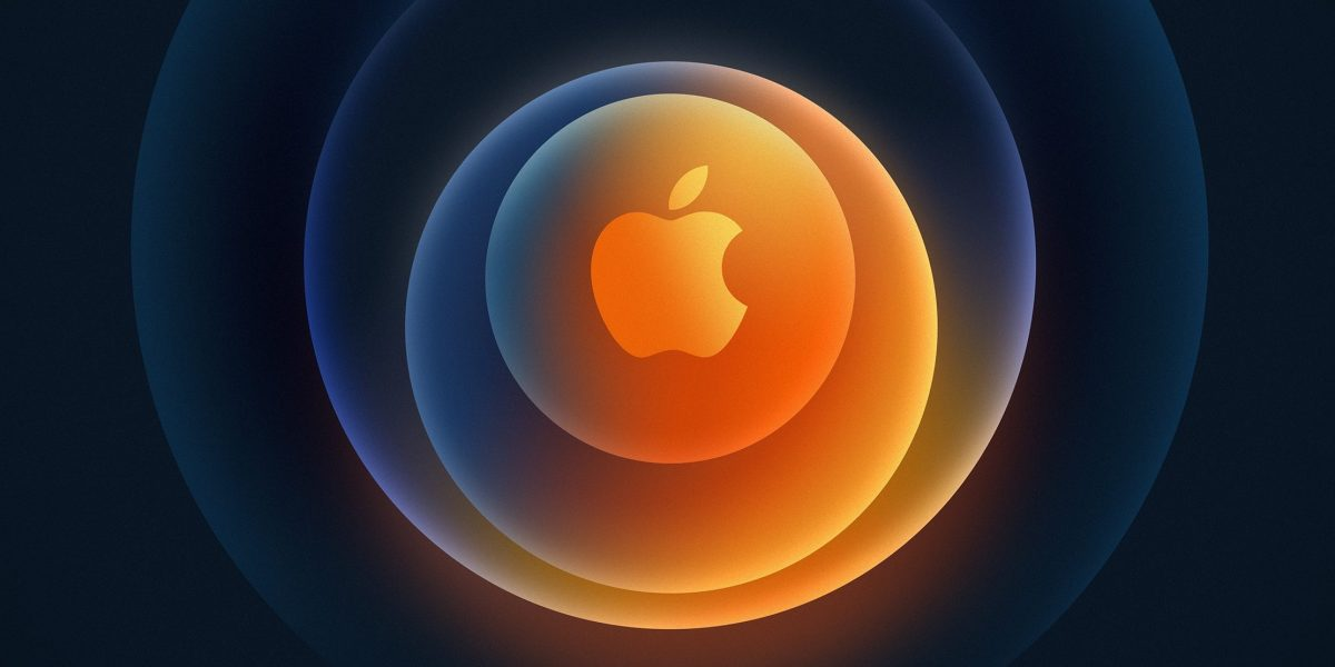 """Apple's logo for the """"Hi, Speed"""" iPhone 12 event."""