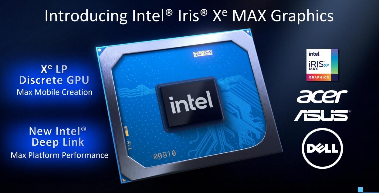 integrated Iris Xe Max graphics