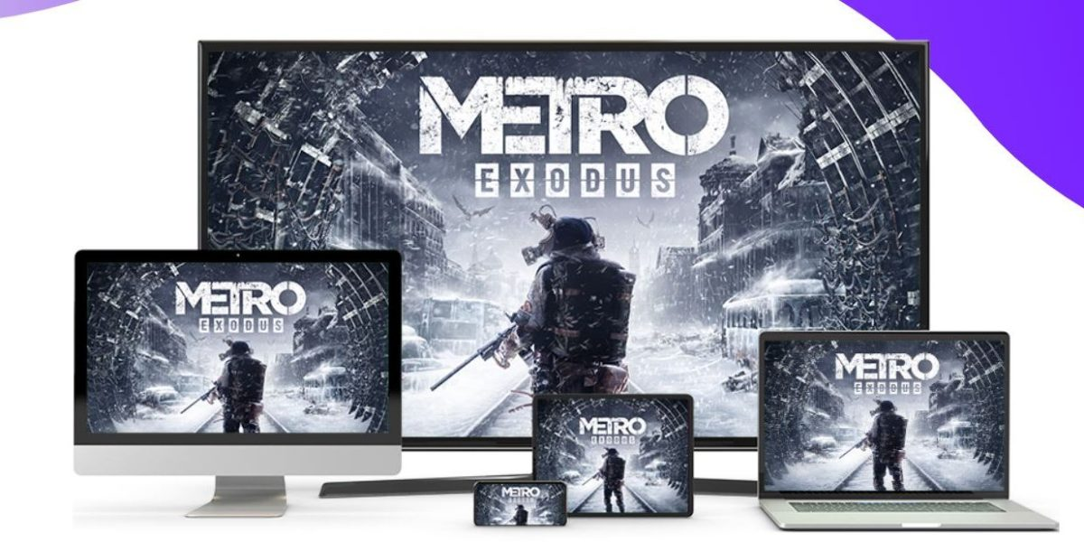 Metro Exodus is one of the games you will find on Amazon Luna.