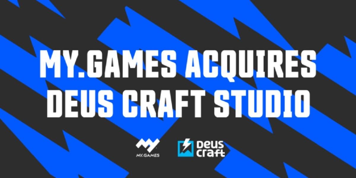 My.Games has acquired control of Deus Craft Studio.