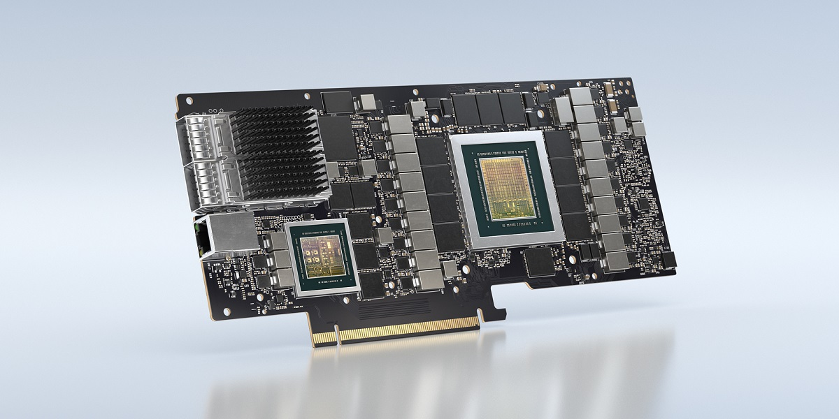 Nvidia's data processing unit BlueField-2X