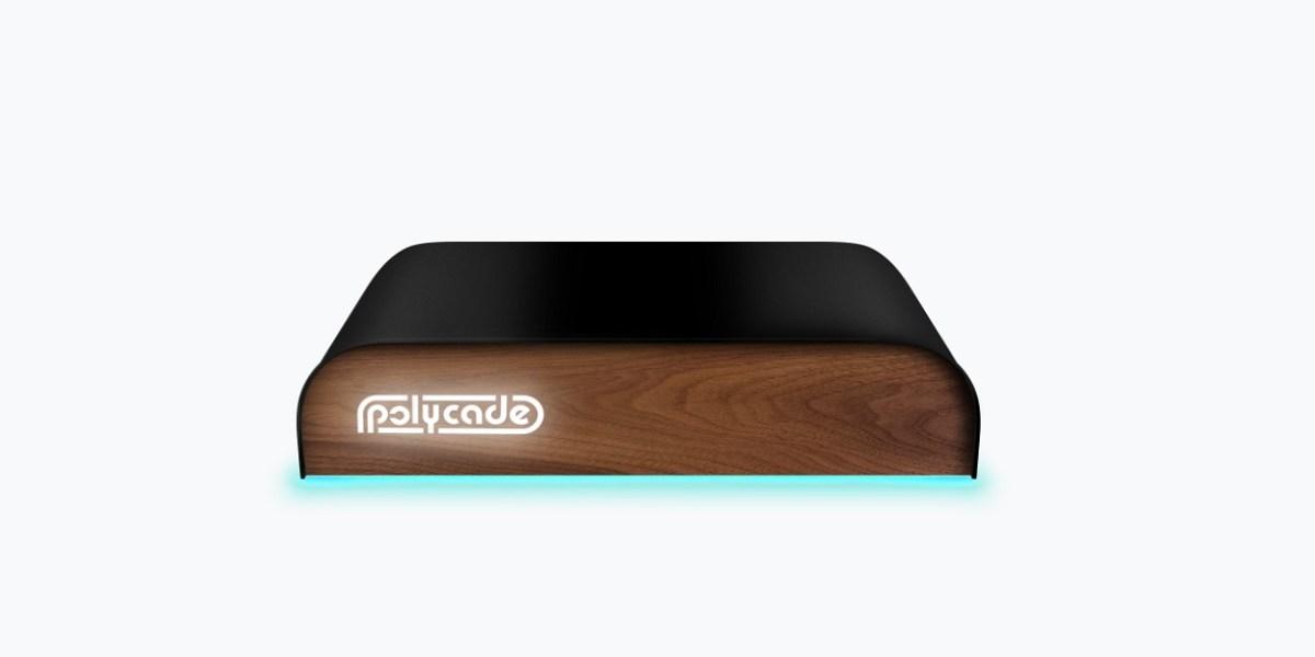 Polycade 2600 game console.