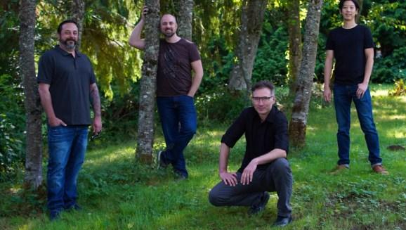 Left to right: ProbablyMonsters' Patrick Blank, John Dunbar, Marsh Lefler, and Allen Fong.