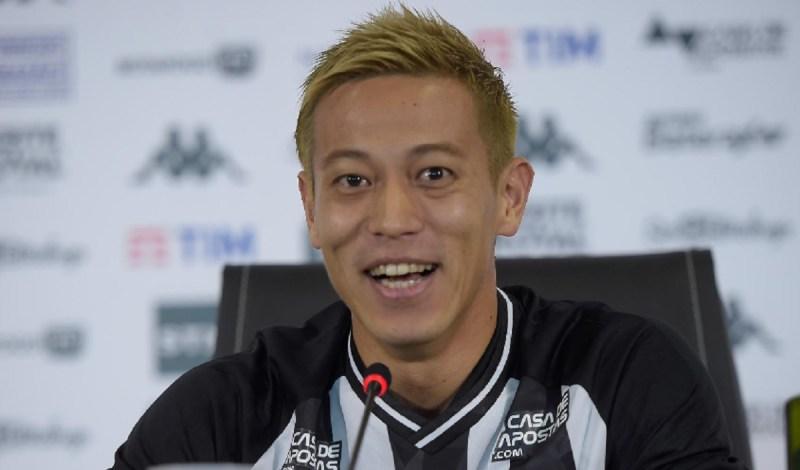 International soccer star Keisuke Honda.