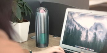 This UV air purifier is half off right now