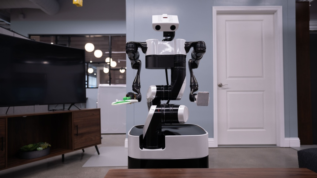 Toyoto Research Institute floor robot