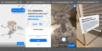 Verizon brings Smithsonian artifacts into AR, invites teams to redefine museums