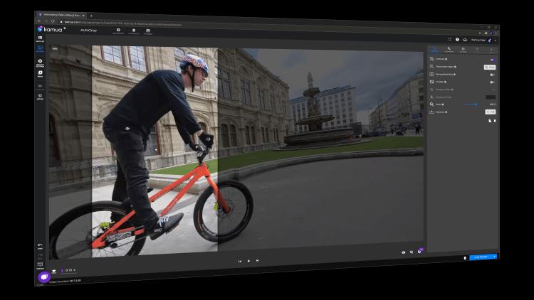 Kamua uses AI to autocrop landscape videos into vertical formats