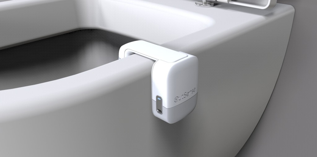 Outsense has built a connected device that attaches to a standard toilet bowl, and uses multi-spectral optical sensors to examine human waste