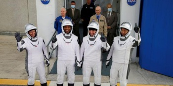 SpaceX launches astronauts on mission to the International Space Station