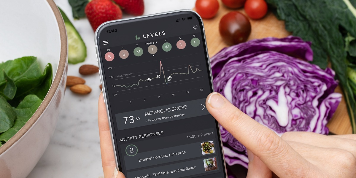 Levels mobile app