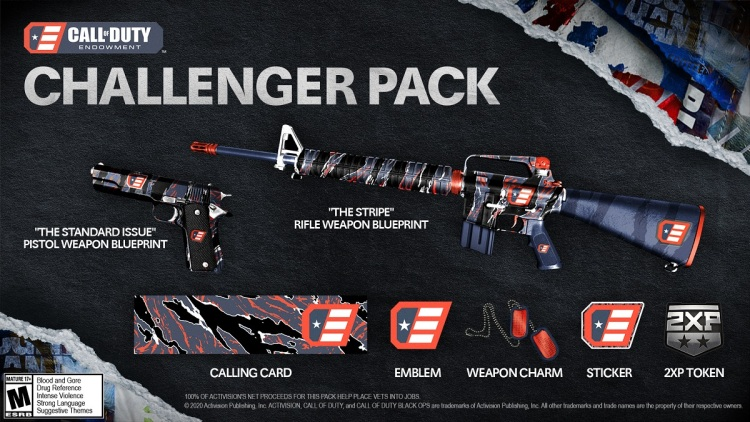 Call of Duty Endowment's  Challenger Pack for Cold War.
