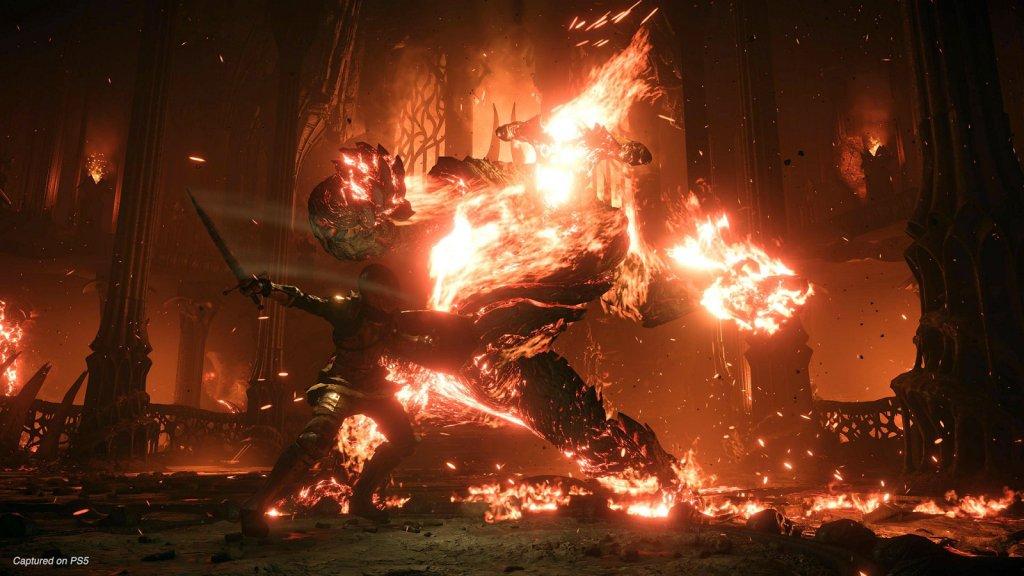 He's on fire!