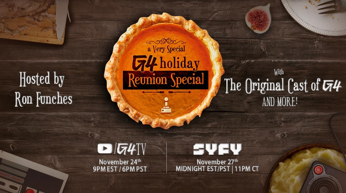 G4 holds a holiday reunion special with Comcast...