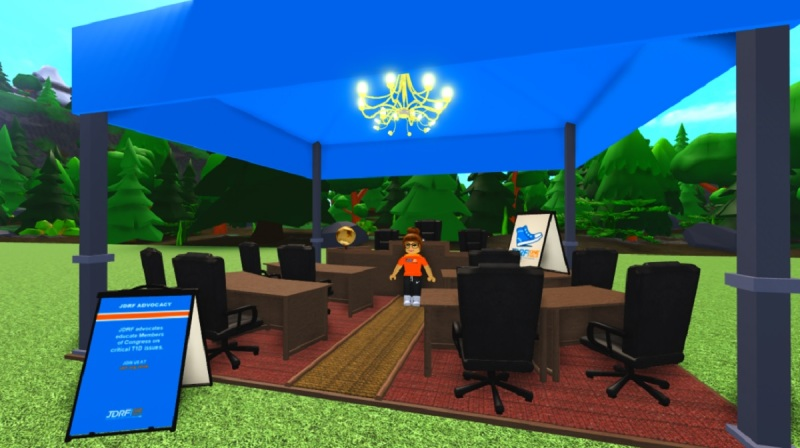 Part of the JDRF world inside Roblox.
