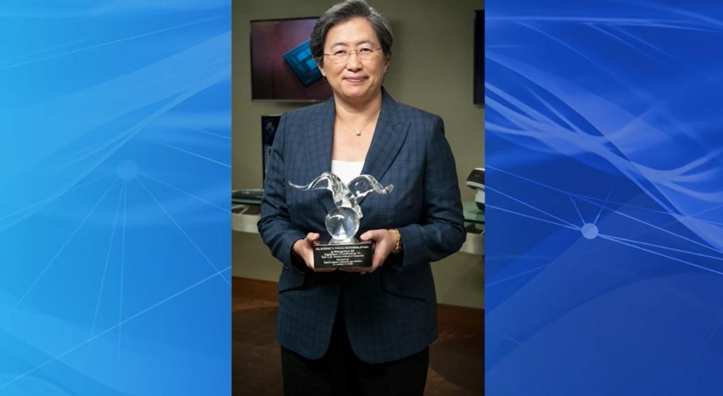 Lisa Su of AMD gets the Noyce Award.
